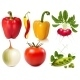 Collection of Vector Vegetables - GraphicRiver Item for Sale