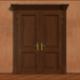 Opening Wooden Door 2 - VideoHive Item for Sale