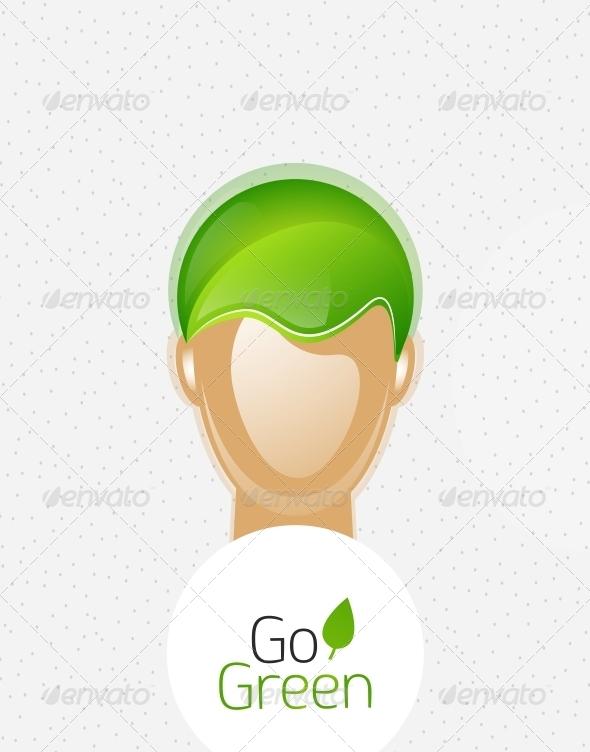 Eco Green Man - Flowers & Plants Nature