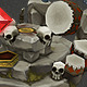 Low Poly RTS Orc Altar