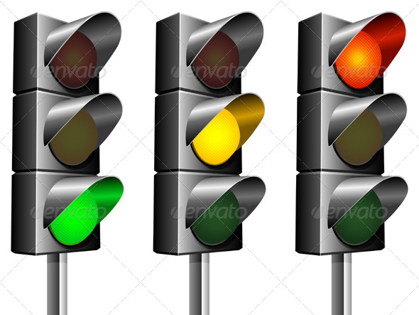 Traffic Lights - Travel Conceptual