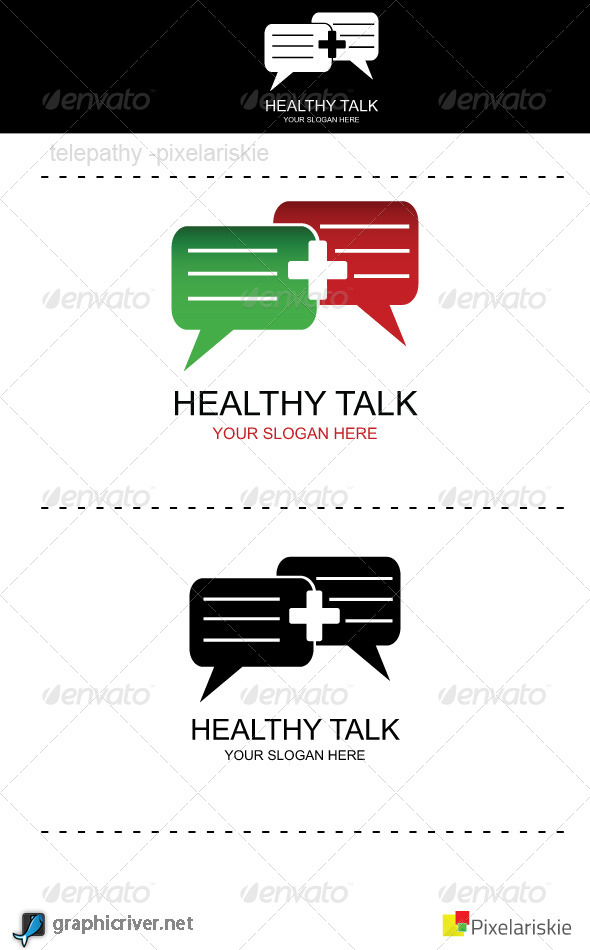 Healthy Talk Logo - Symbols Logo Templates