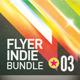 Indie Flyer Vintage Bundle | 003 - GraphicRiver Item for Sale