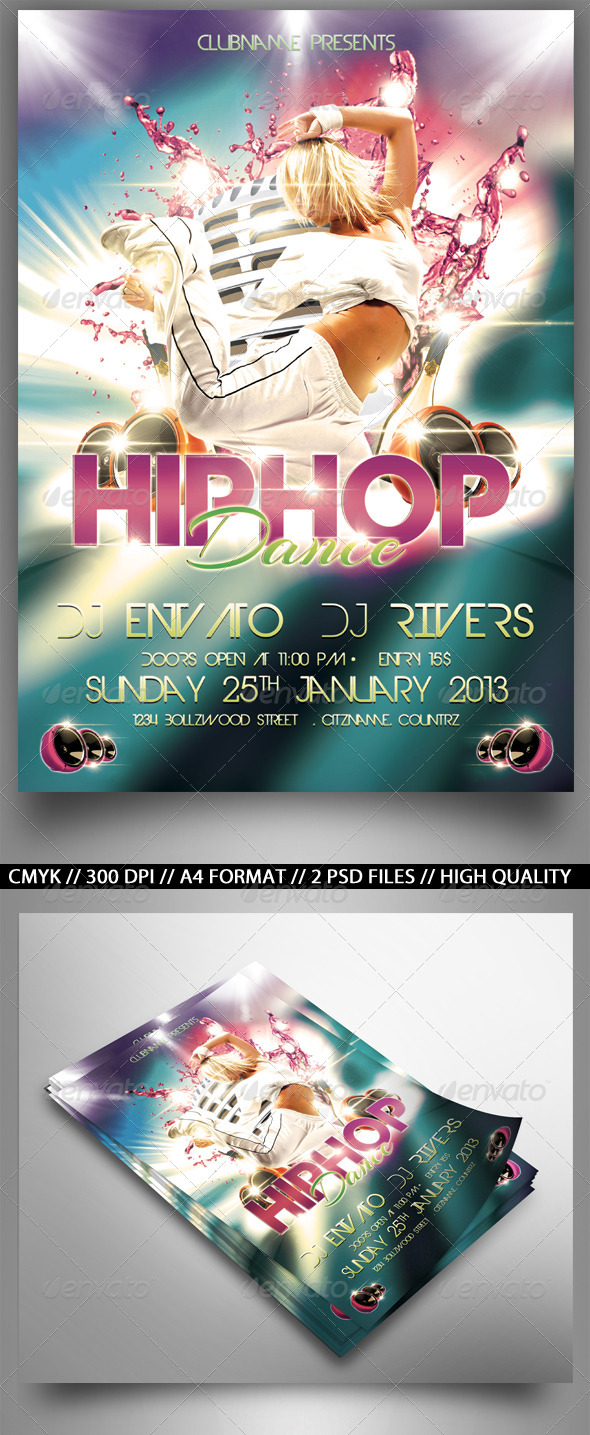 HipHop Party - Clubs & Parties Events