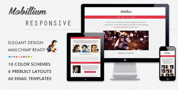 Mobillium – Responsive Email Newsletter