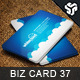 Business Card Design 37 - GraphicRiver Item for Sale