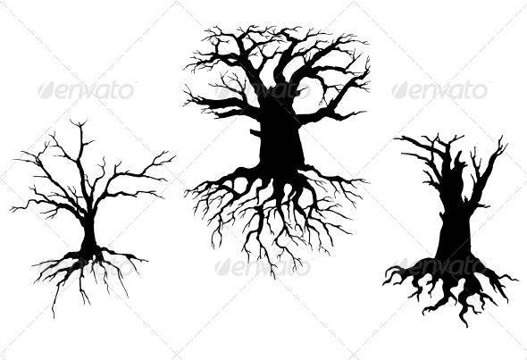 Dead Trees for Ecology Design - Miscellaneous Vectors