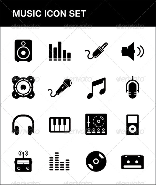 Music Icon set - Icons
