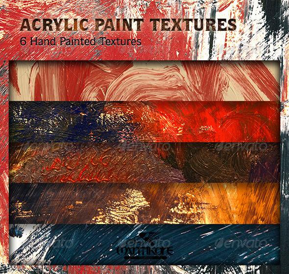 Acrylic Paint Textures - Art Textures