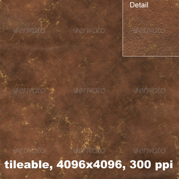 Aged Leather 1 - Fabric Textures
