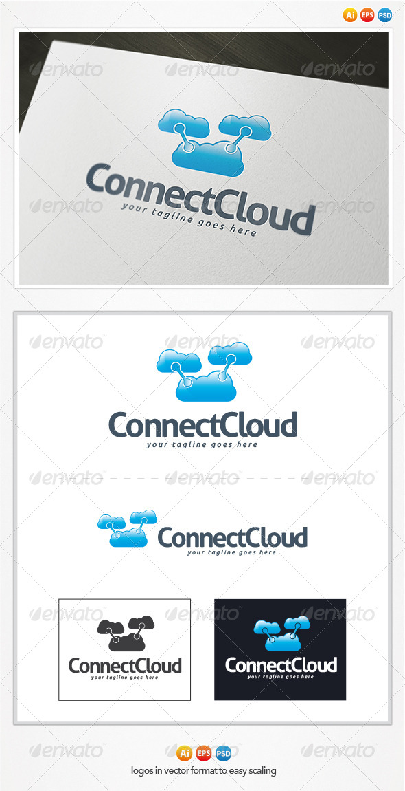 Connect Cloud Logo - Objects Logo Templates