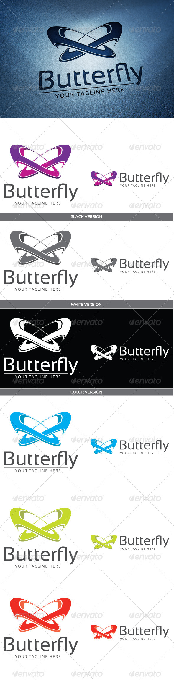 Butterfly - Abstract Logo Templates