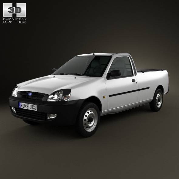 Ford Courier 2011 - 3DOcean Item for Sale