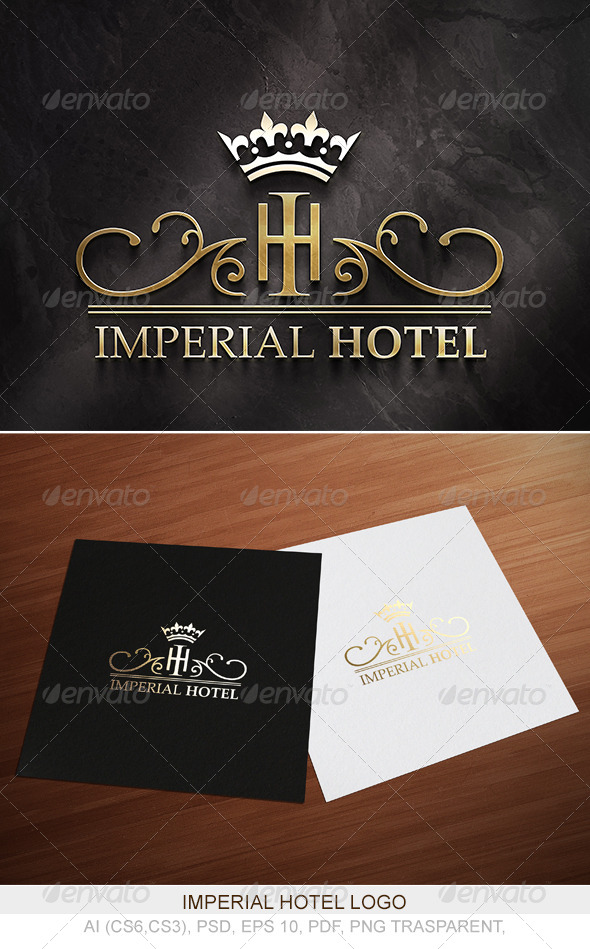 Imperial Hotel Logo - Logo Templates