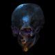 Rotating Skull VJ Loop - VideoHive Item for Sale