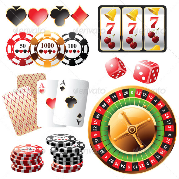 Casino Design Elements - Sports/Activity Conceptual