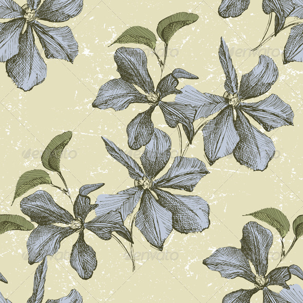 Floral Seamless Ornament - Patterns Decorative