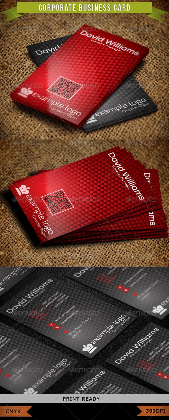 Corporate Business Card 015 - Corporate Business Cards