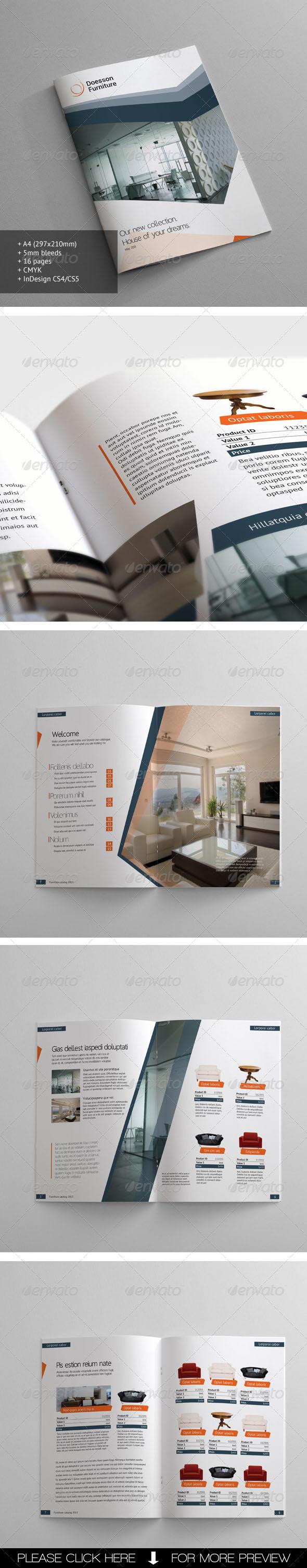 Furniture Catalogue - Catalogs Brochures