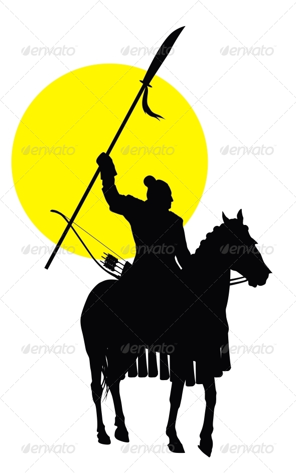 Chinese Horseman - People Characters