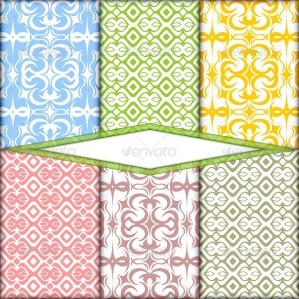 Color Ornament - Patterns Decorative