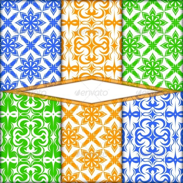 Color Pattern - Backgrounds Decorative
