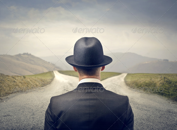 choose direction - Stock Photo - Images