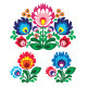 Polish Floral Folk Embroidery Pattern - GraphicRiver Item for Sale