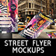 Street Flyer Mockup - GraphicRiver Item for Sale