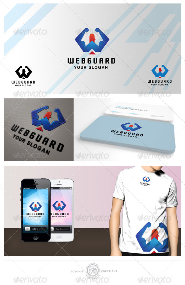 Web guard Logo - Symbols Logo Templates