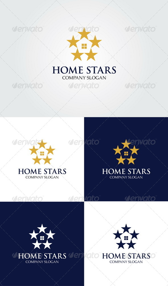 Home Stars Logo - Symbols Logo Templates