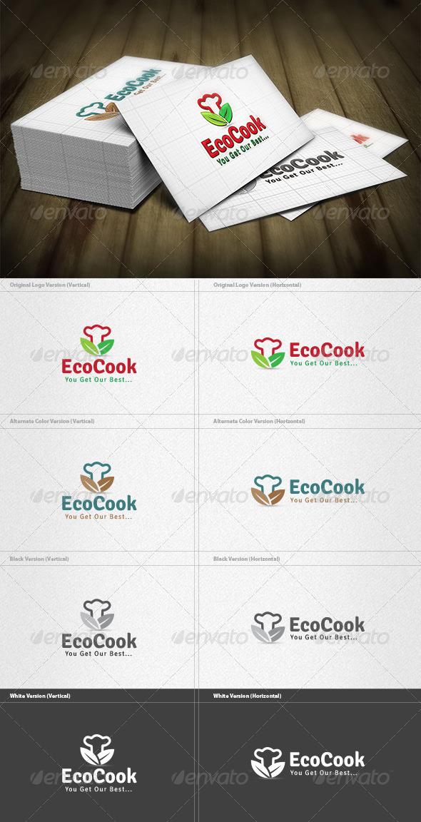 Eco Cook Logo - Symbols Logo Templates