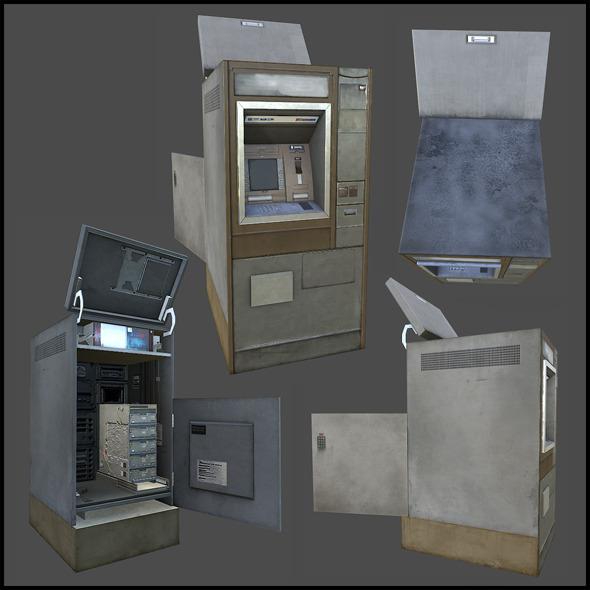 Cashpoint Machine - 3DOcean Item for Sale