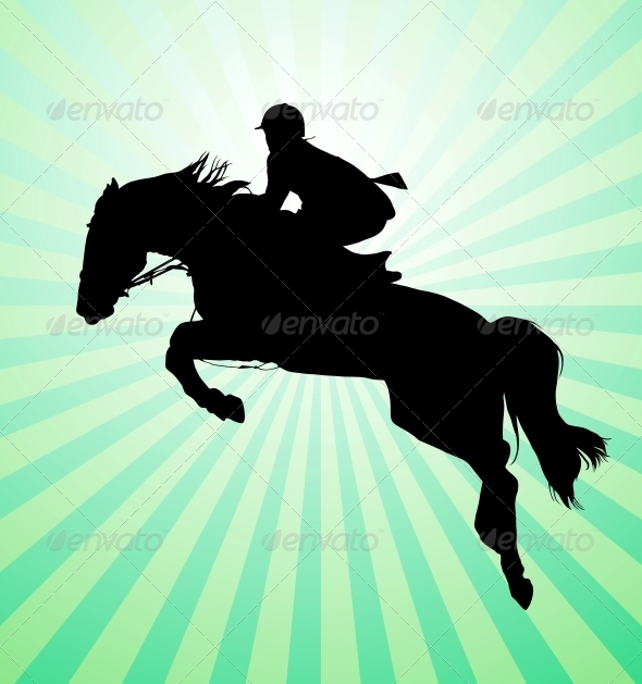 Horseman - Sports/Activity Conceptual