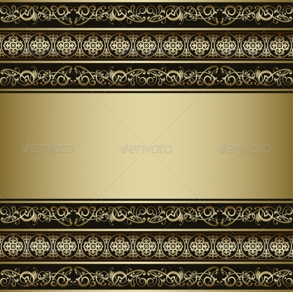 Vintage Vector Background - Backgrounds Decorative