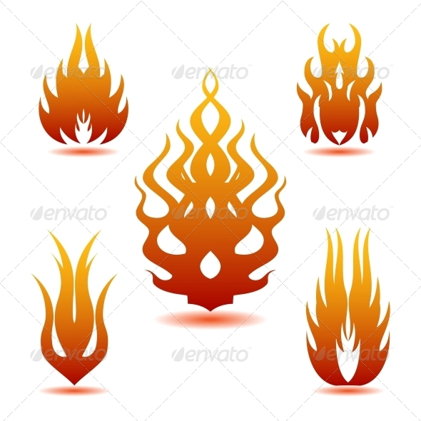 Flame - Decorative Symbols Decorative