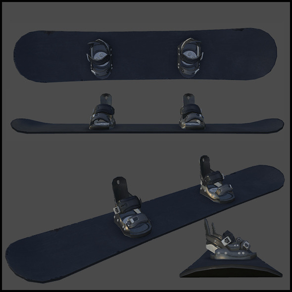 Snowboard - 3DOcean Item for Sale