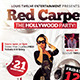 Red Carpet Party | Flyer + Facebook Cover - GraphicRiver Item for Sale