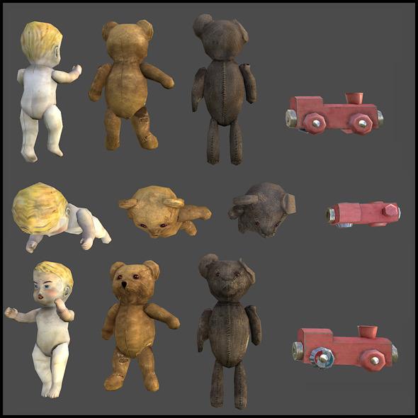 Children Toys - 3DOcean Item for Sale