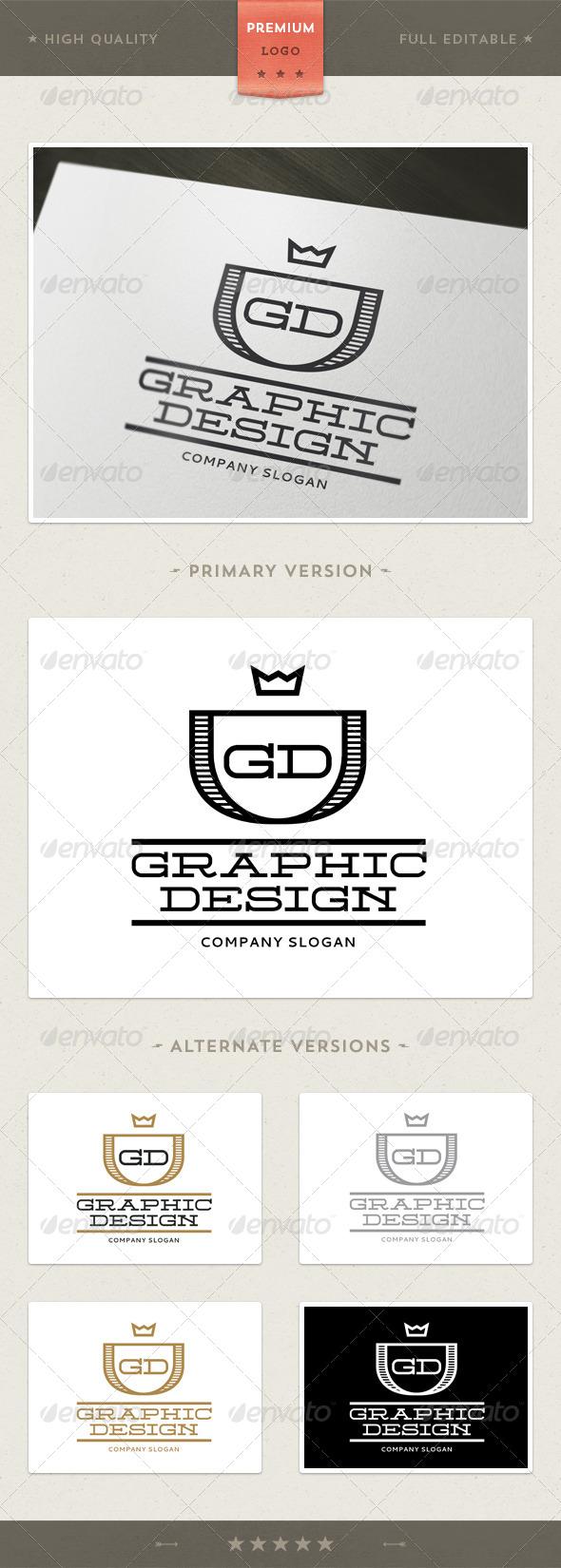 GD - Multipurpose Logo Template - Crests Logo Templates