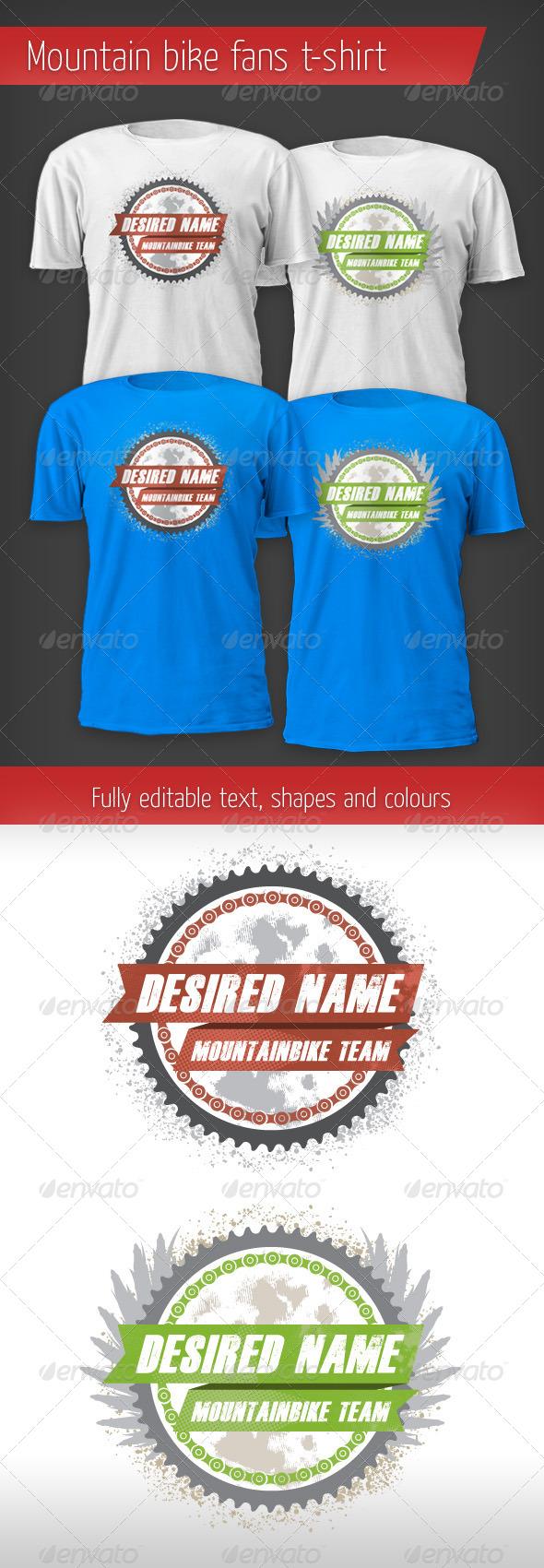 Mountain Bike Fan T-shirt - T-Shirts