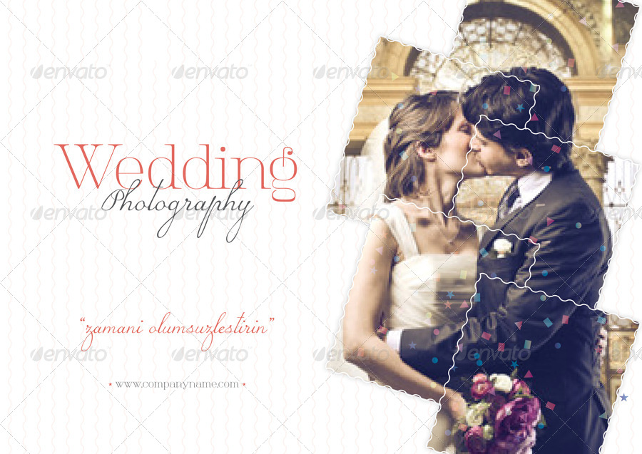 Wedding Photography Catalogue Template by grafilker | GraphicRiver