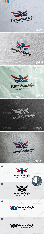 AmericaEagle - Animals Logo Templates
