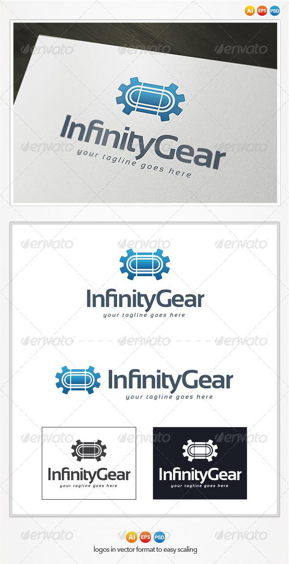 Infinity Gear Logo - Symbols Logo Templates