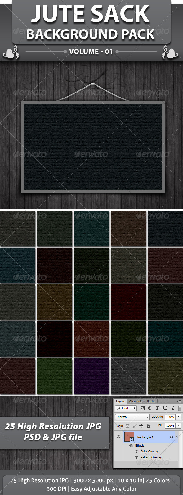Jute Sack Background - Patterns Backgrounds