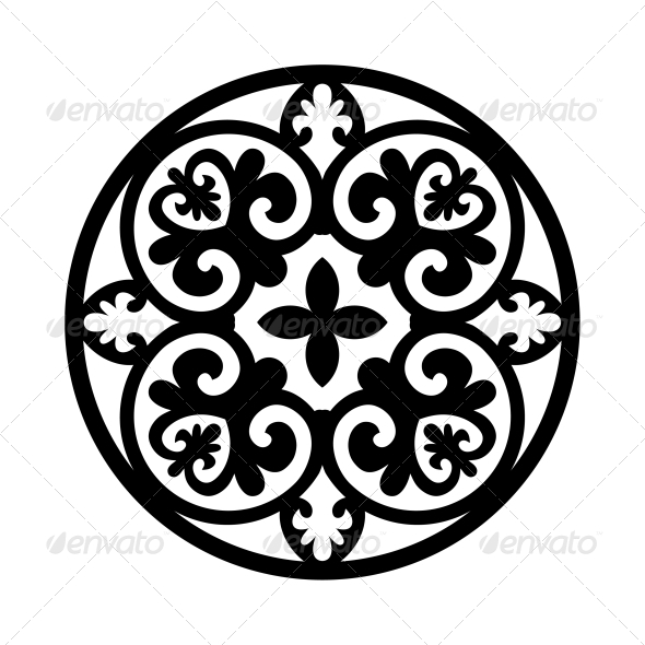 Circular Ornament - Patterns Decorative