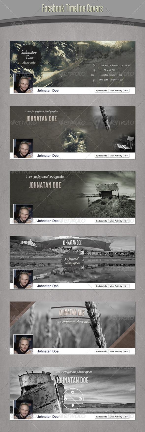 Retro Facebook Timeline - Facebook Timeline Covers Social Media