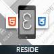 Reside Mobile | Mobile Template - ThemeForest Item for Sale