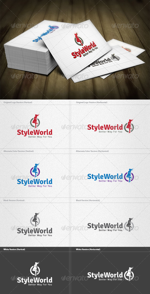 Style World Logo - Vector Abstract