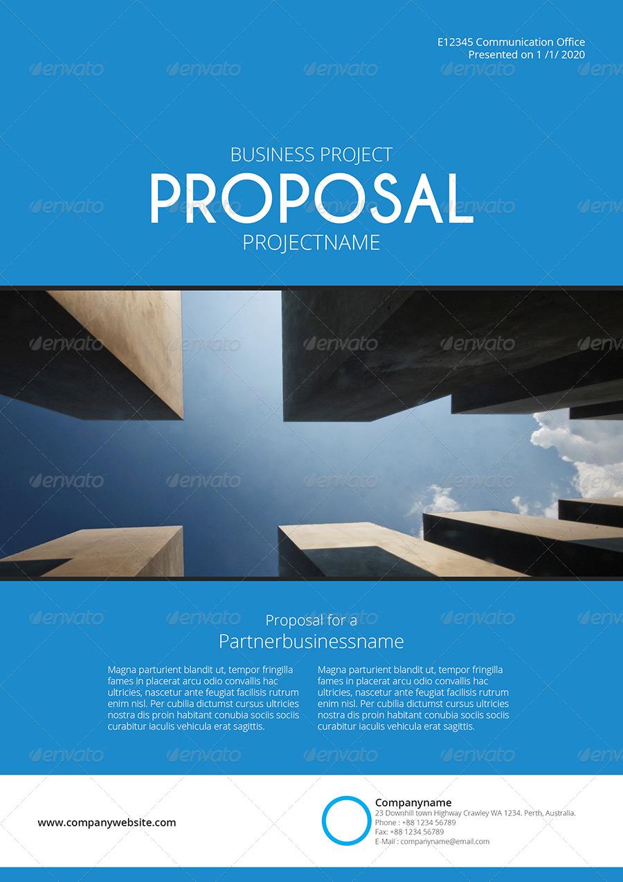 gstudio blue proposal template by terusawa